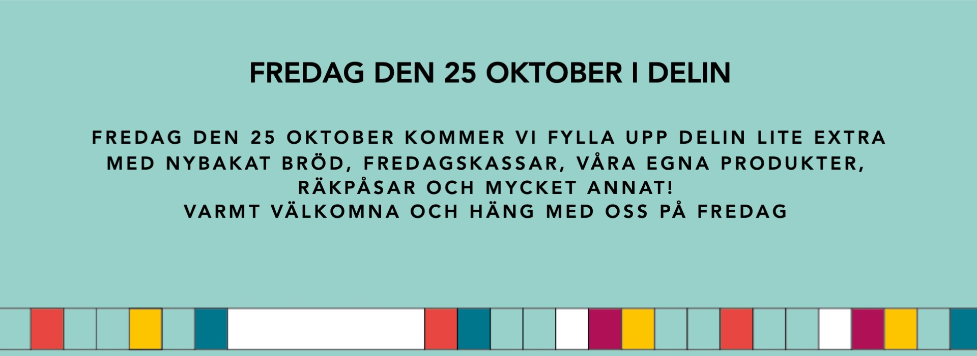 FREDAG-DEN-25-okt